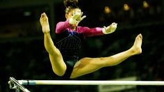 Gymnastics is a sport involving the performance of exercises requiring strength, flexibility, balance and control. Internationally, all events are governed by the Federation Internationale Gymnastics Sports Images, Gymnastics, Maine, Wrestling, Exercise, Fitness, Lucha Libre, Ejercicio, Excercise