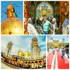 [ 25 Shaban 1437 ]   Right Now The Atmosphere Inside Al-Jawadain Holy Shrine.