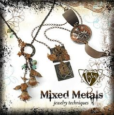 Mixed Metals Jewelry Techniques by Vintaj