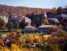 Colgate University in Hamilton, NY