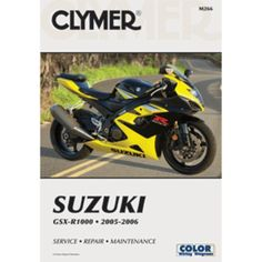 Clymer Suzuki GSX-R1000 (2005-2006)