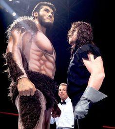 Giant Gonzalez and The Undertaker Undertaker Wwe, Wwf Superstars, Wrestling Superstars, Wrestling Stars, Wrestling Divas, Wrestlemania 29, Catch, Vince Mcmahon, Wwe Tna