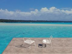X-RAY outdoor lounge chair, designed for spHaus by Diego Sferrazza