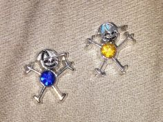 Birthstone Boy Charms