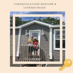Welcome home Leonard & MaryAnn! Congratulations! 🏡🔑