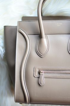 Buttery Soft Handbag by Celine Paris for the Modern Gladiator