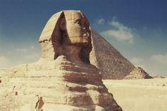 Esfinge y pirámides de #Giza. Soñando con otros lugares: los 101 monumentos más famosos del mundo #viajes #travel #Egipto