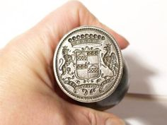 Viscount Preston Graham Nunnington / Netherby Hall Silver Desk SEAL