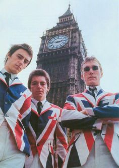 The Jam の写真 — better quality of the famous shot