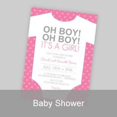free printable baby shower invitations for a girl Google Search