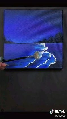 Canvas Painting Tutorials, Simple Canvas Paintings, Easy Canvas Art, Small Canvas Art, Mini Canvas Art, Canvas Painting Designs, Disney Canvas Art, Digital Painting Tutorials, Acrylic Painting Techniques