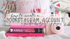 how to create a bookstagram account