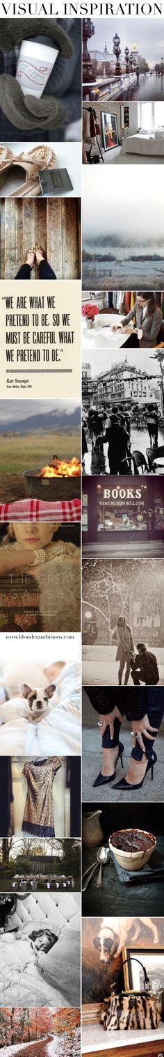 Visual Inspiration. Fall. Winter. Fashion. Style. Luxury. Lifestyle. Travel. #blonderambitions