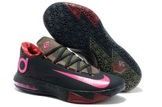 Cheap Nike Zoom KD VI Pink Black Brown Red