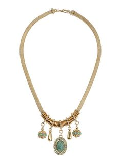 Beaded Charm Drop Necklace - View All New In  - New In