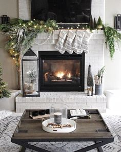 The Best Fireplace Decor For Winter
