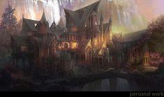 elf fantasy artstation lim zapisano