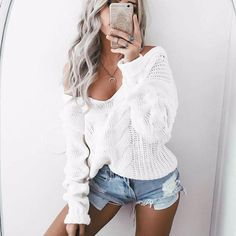 This sold fast the last time we had this in stock now it is back again Womens Casual Lon... Check it out here ! http://mamirsexpress.com/products/womens-casual-long-sleeve-jumper-sweater-blouse?utm_campaign=social_autopilot&utm_source=pin&utm_medium=pin