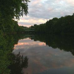 New paltz, wallkill river