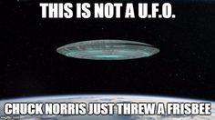 Chuck Norris frisbee