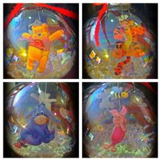 Winnie The Pooh & friends Ornament on Etsy, $15.00