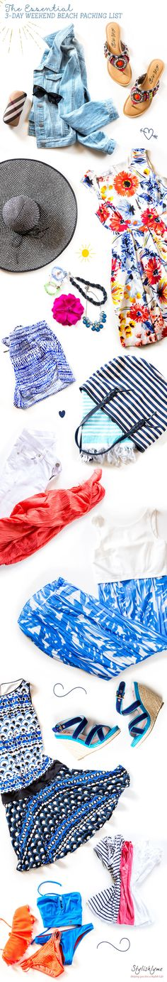 The Essential 3-Day Weekend Beach Packing List