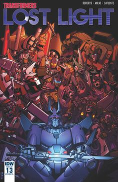 lost light issue 13 three page itunes comic preview/33063