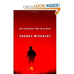 No Country for Old Men   Cormac McCarthy