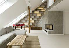 Fluidità e ampiezza per questo loft a Praga