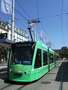 Tram in Bavaria, Germany