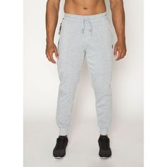 Fleece Jogger with Knee Seaming and Zip Pocket with Taping