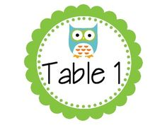 FREE! If you are doing the Owl theme. Hang above your tables to decorate your classroom!...