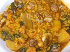 Cocinando con Lola García: Arroz con acelgas y caracoles