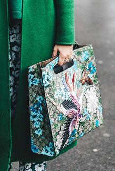 These Gorgeous Street Style Images Left Us Speechless via @WhoWhatWear