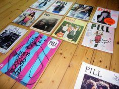Pill magazine by Suzy Defaux, via Behance