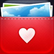 Free iPhone #app Pick photo filter app that also includes borders, emoticons, and messages