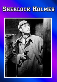 """""""Sherlock Holmes"""" UK TV Show on The BBC (circa 1954) --- Legendary actor Christopher Lee introduces this complete collection of classic black-and-white mysteries featuring the iconic Sherlock Holmes (Ronald Howard), a London detective who employs powers of deduction to unlock seemingly impenetrable cases."""