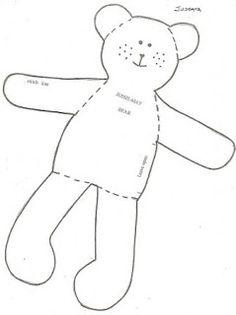 Mimin Dolls: boneca country com botões