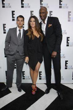 Rob Kardashian, Khloe & Lamar Odom