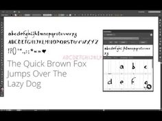 Fontself Allows You To Turn Any Lettering Into Actual Fonts From Your Favorite Graphics Editor