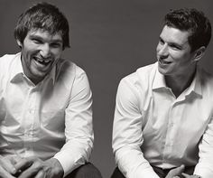Alexander Ovechkin & Sidney Crosby    (Photo Credit: Vanity Fair)