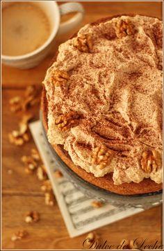 Dulce de Leche: Orechovo kávová torta (bez múky)