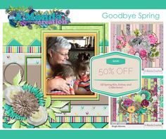 Amanda Creations Goodbye Spring Sale