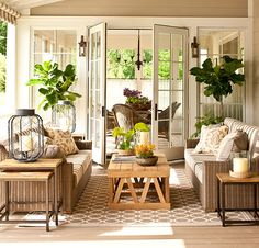 porch, adjoining the dining room (Southern Living Idea House 2013 | How To Decorate0