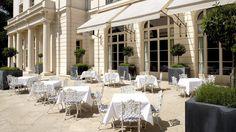 Chef Gordon Ramsay designed the menu at Trianon Palace Versailles, a Waldorf Astoria Hotel, Paris.