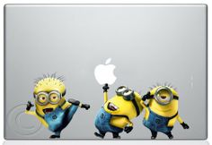 #DespicableMe #Minions Apple Macbook Decal skin sticker