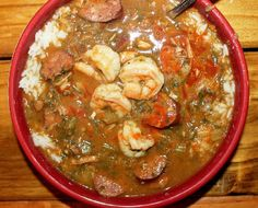 When you think of Cajun and Creole cooking, a big pot of gumbo probably comes to mind. This recipe for Smokey Creole Gumbo will help you make a tasty and easy gumbo recipe that will make you feel like you've taken a trip to Louisiana. Creole Recipes, Cajun Recipes, Seafood Recipes, Soup Recipes, Cooking Recipes, Gumbo Recipes, Creole Gumbo Recipe, Cooking Food, Cooking Tips