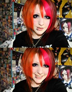 I need to do my makeup like that...at least try it!!!