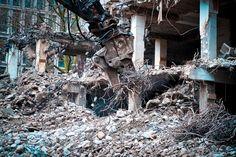 #building #city #cityscape #construction debris #construction machinery #construction vehicle #construction work #crash #debris #demolition #demolition cutter #demolition work #disassembly #excavators #home #hou