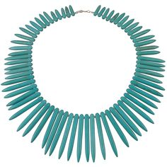 Turquoise Spike Necklace from HandPicked